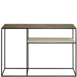 Fera Console Table and Shelf