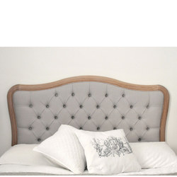 Fogo King Size Button Headboard