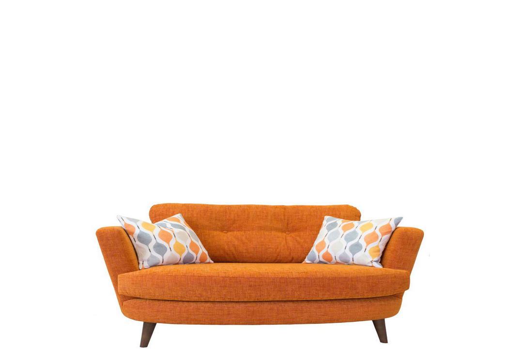 Lisbon Oval Cuddler Armchair