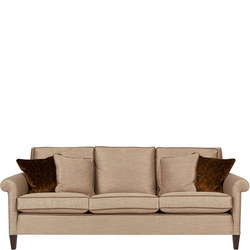 Gabrielle Large Sofa with Studs, Kalahari Bronze