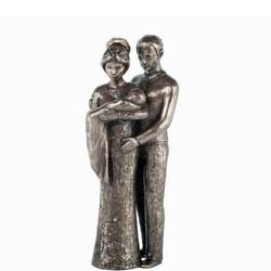 Love Life Your Christening Bronze Figurine