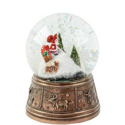 Christmas Igloo Snow Globe Ornament