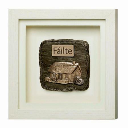 Fáilte Framed Bronze Plaque