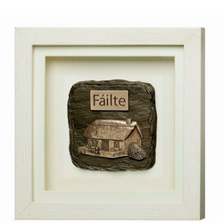 Fáilte Framed Plaque