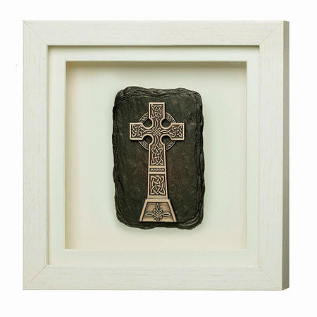 High Cross Framed Plaque