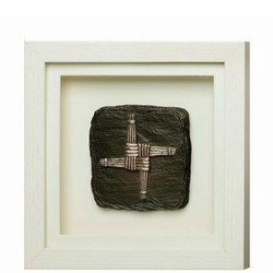St. Brigid'S Cross Framed Plaque