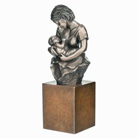 Devotion Bronze Figurine