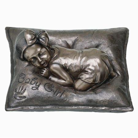 Sweet Dreams Girl Bronze Figurine