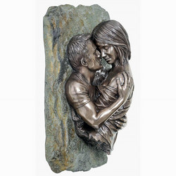 The Embrace Wall Plaque