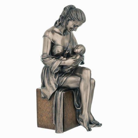 Maternal Love Bronze Figurine