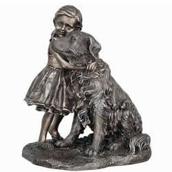 Puppy Love Bronze Figurine
