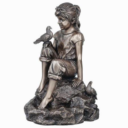 Peace Bronze Figurine