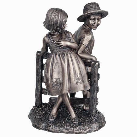 Summer Love Bronze Figurine