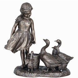 The Goose Girl Figurine