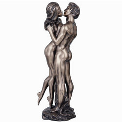 The Embrace Bronze Figurine