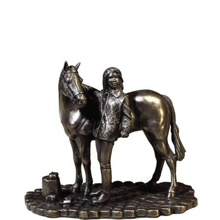 Girl & Pony Ornament