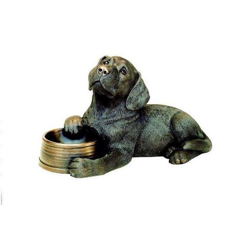 Labrador With Bowl Ornament