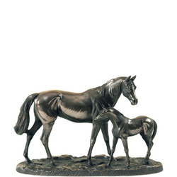 Mare & Foal Large Ornament
