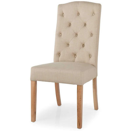 Gloucester Stanza Button Back Dining Camel Chair
