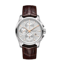 Jazzmaster Auto Chrono Brown