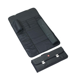 Knife Case 16 Compartments Black