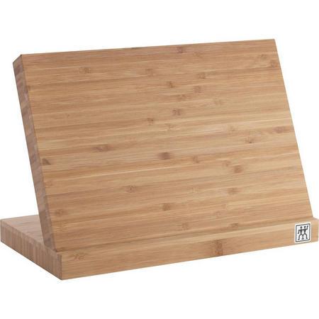 Knife Block Bamboo - Magnet