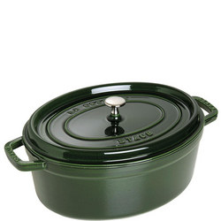 Cocotte Oval 31 Cm Basil Green