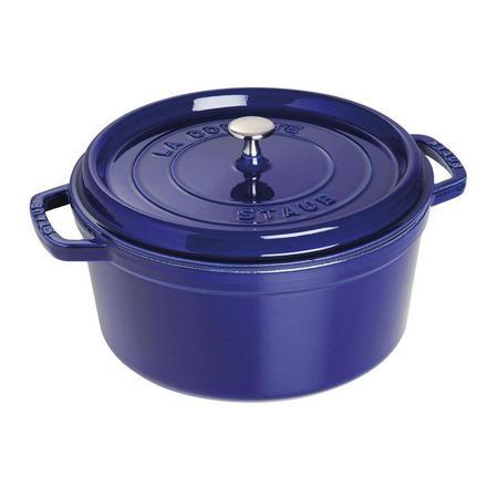 Cocotte Round 28 Cm Dark Blue