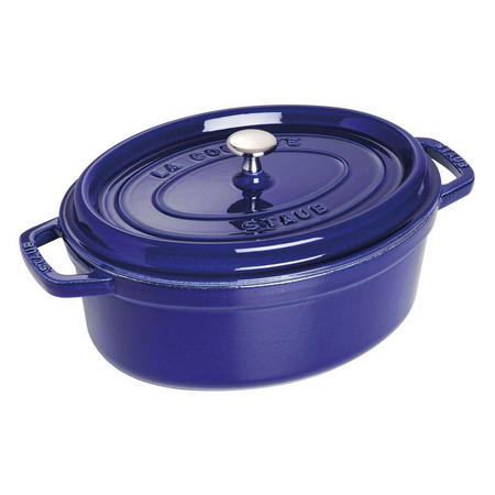 Cocotte Oval 29 Cm Dark Blue