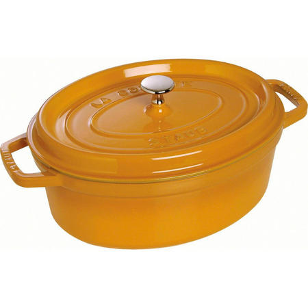 Cocotte Oval 31 Cm Mustard