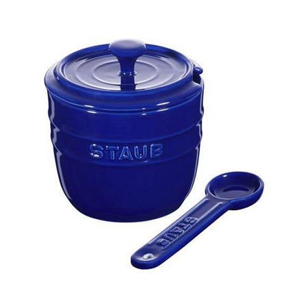 Ceramic Sugar Bowl Blue