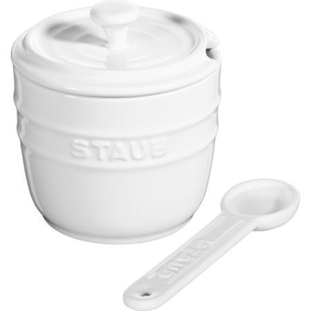Ceramic Sugar Bowl White