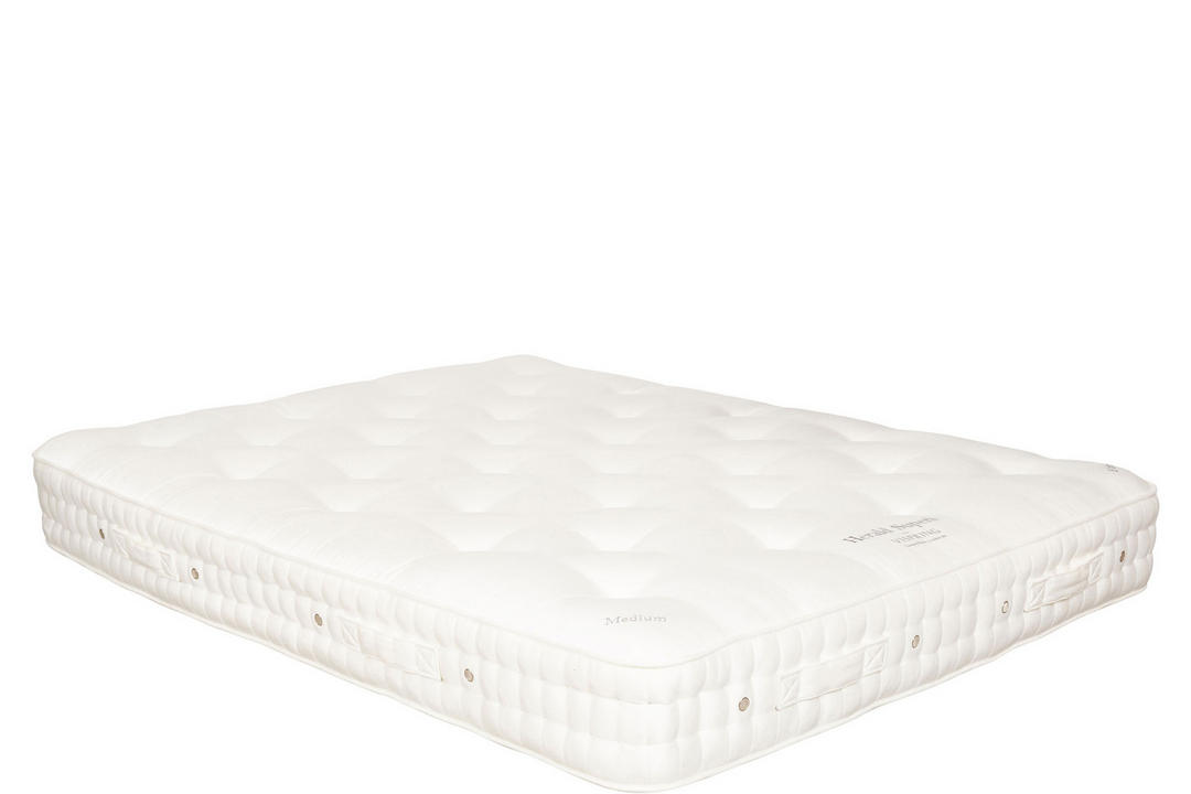 Herald Superb Mattress, Soft Tension, Plain Satin Vanilla 534
