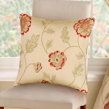 Poppy Trail Cushion Cover Red