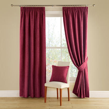 Vogue Curtains Red