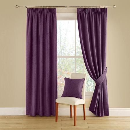 Vogue Curtains Aubergine