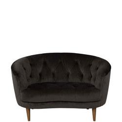 Jean Snuggler Plush Velvet Asphalt