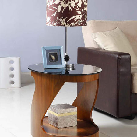 Curve JF304 Oval Lamp Table