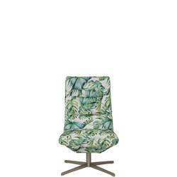 Josh Swivel Chair Tropicana Green