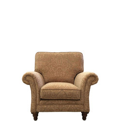 Juliette Armchair Kirman Pattern Antique