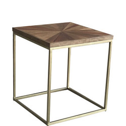 Jupiter Sunburst Side Table
