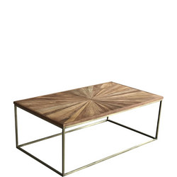 Jupiter Sunburst Coffee Table