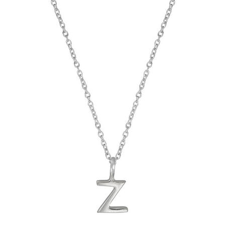 Silver Z Initial Pendant