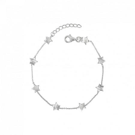Silver You Are My Shining Star Bracelet