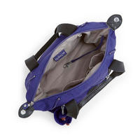 Art Y Handbag Purple