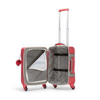 Cyrah S Small Cabin Spinner With 2 Compartment Division Red