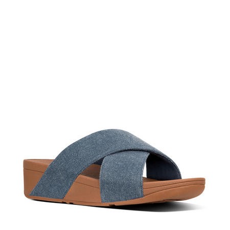Lulu Denim Slide