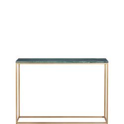 Kensington Low Shelving/Console Green Marble