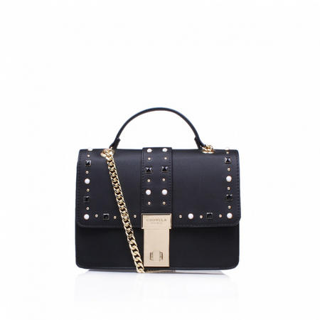 Opal Stud Xbody Bag Black