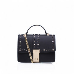 Opal Stud Xbody Bag Black